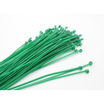 Cable Ties 160 x 2.5mm Green (20 pcs)