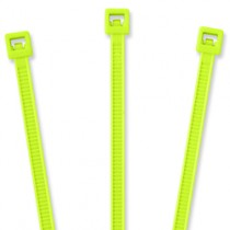 "Nylon Cable Ties - 4"", Fluorescent Green 20 pcs"