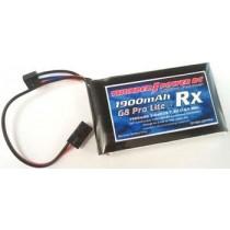 TP1900-2SPPRX LiPo 2S 1900mAh G8 Pro Lite+ RX